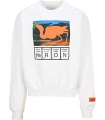 heron preston periodic heron logo sweatshirt