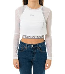 cropped double layer top