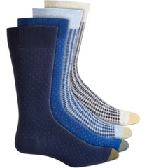 gold toe men's 4-pk. crew socks