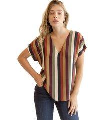 blusa francisca multicolor racaventura