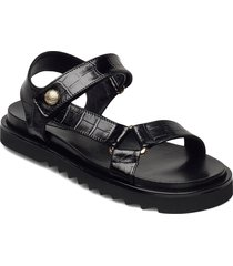sandals 4192 shoes summer shoes flat sandals svart billi bi