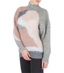 alberta ferretti jumper sweater turtle neck