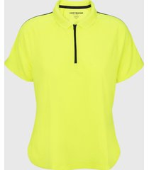 polo melrose wicking amarillo tommy hilfiger