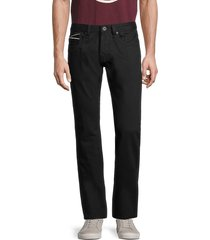 cult of individuality men's rebel straight-fit jeans - black - size 31