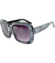 óculos de sol marmorizado mackage mk86004c cinza