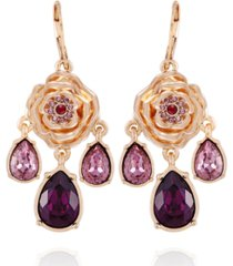 t tahari women's fashionable florals statement earring