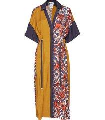 souk kaftan maxi dress galajurk multi/patroon hope