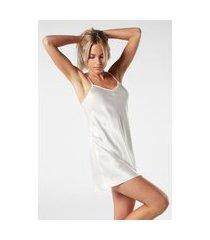 camisola de seda - off-white g intimissimi