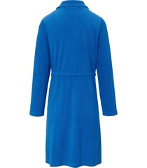 badjas met lange mouwen van peter hahn blauw