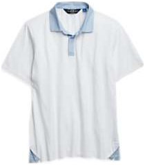 joe joseph abboud bright white slim fit polo shirt