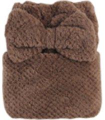 microfibra toalla cabello seco cabello mágico rápida sombrero turbante
