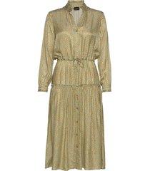 3367 - rayne jurk knielengte groen sand