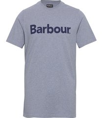 barbour ardfern tee t-shirts short-sleeved blå barbour