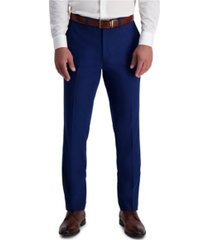 louis raphael stretch solid skinny fit flat front suit separate pant