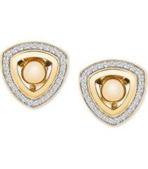 diamond triangle earring jackets (1/6 ct. t.w.) in 14k gold
