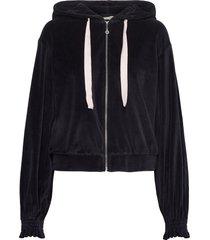 marion hood sweater hoodie trui zwart odd molly