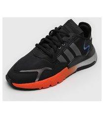 tênis adidas originals nite jogger preto