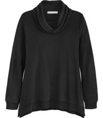adyson parker women's long sleeve cowl neck top