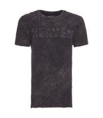 t-shirt masculina heaven jeans - preto