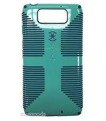 speck products candy shell grip case for motorola droid maxx - pool blue/deep se