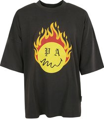 palm angels burning head loose t-shirt