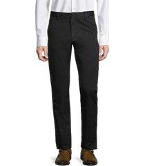 zadig & voltaire men's pao chino pants - noir - size 42