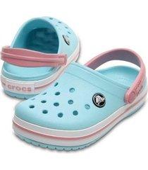 sandália crocs crocband infantil feminina
