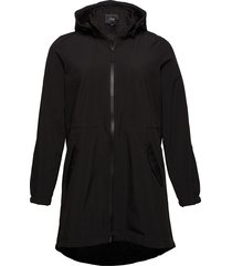 zaspen, soft shell jacket gevoerd jack zwart zizzi