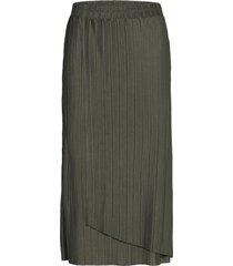 sc-kirit knälång kjol grön soyaconcept