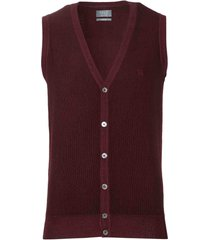 nils gilet - slim fit - bordeaux