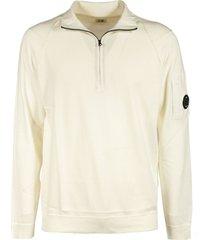 c.p. company collared sweatshirt