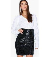co'couture davis sequin skirt minikjolar