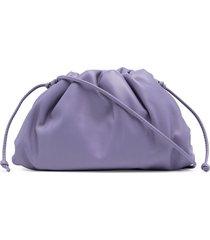 bottega veneta the mini pouch clutch - purple