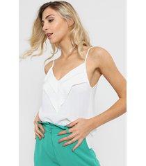 blusa blanca tarym
