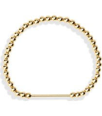 women's baublebar beaded bar bracelet