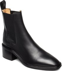 all day all night shoes boots ankle boots ankle boot - heel svart anny nord