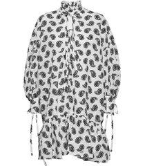 abito/dress knälång klänning vit msgm