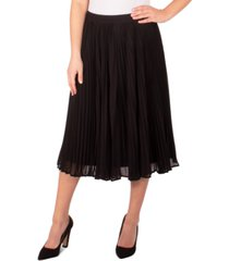 ny collection petite pleated skirt