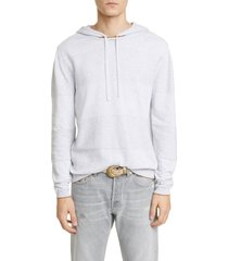 men's eleventy ribbed stripe hoodie