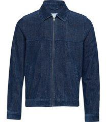 gersten jacket 10690 overshirt blauw samsøe & samsøe