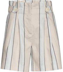 elsa shorts shorts paper bag shorts creme morris lady
