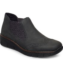 537z3-45 shoes boots ankle boots ankle boot - flat grå rieker