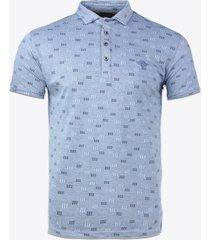 polo shirt korte mouw gabbiano denim 23113 poloshirt cobalt blue
