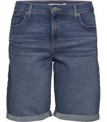 pl shaping bermuda paris rain shorts denim shorts blauw levi's plus