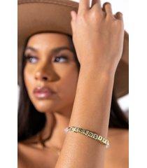 akira exclusive beaded bracelet