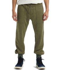 pantalon jogger m oak pant verde burton