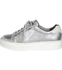 skor semler silverfärgad