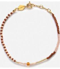anni lu women's mess bracelet - topaz