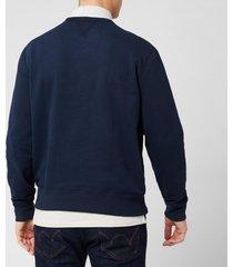 polo ralph lauren men's fleece sweatshirt - cruise navy - s