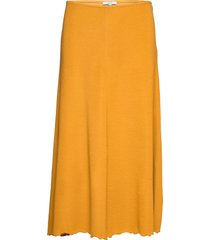 yori knälång kjol gul dagmar